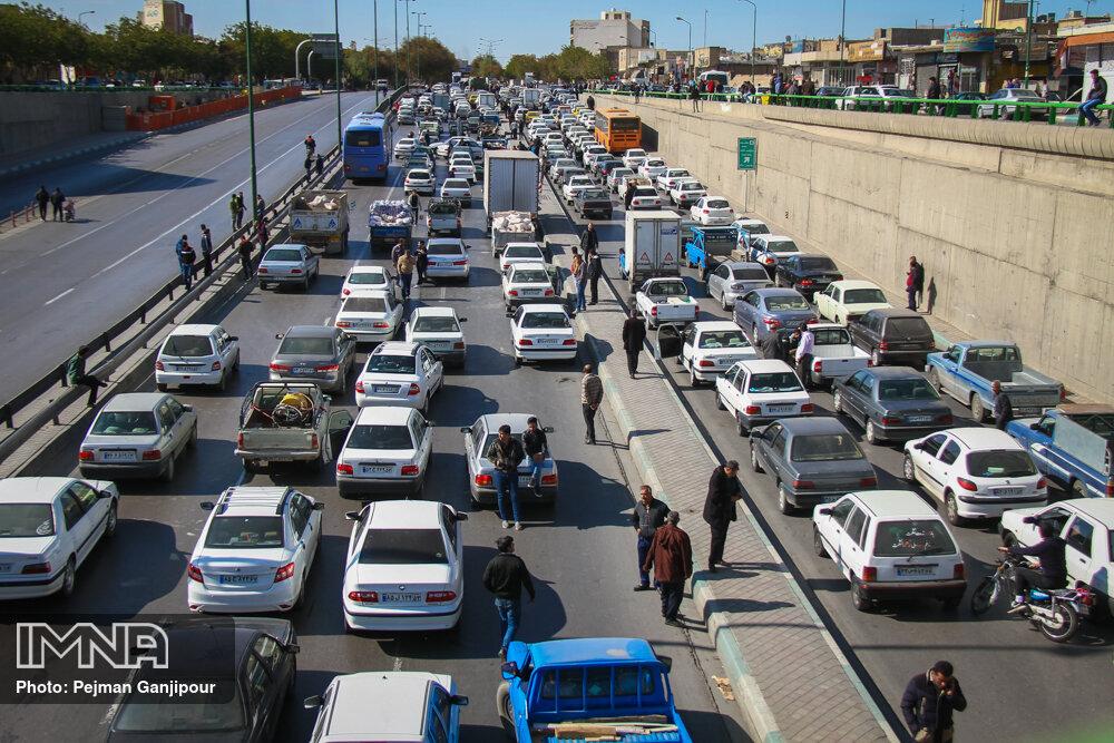 توضیحات پلیس در خصوص آخرین وضعیت خیابانهای اصفهان