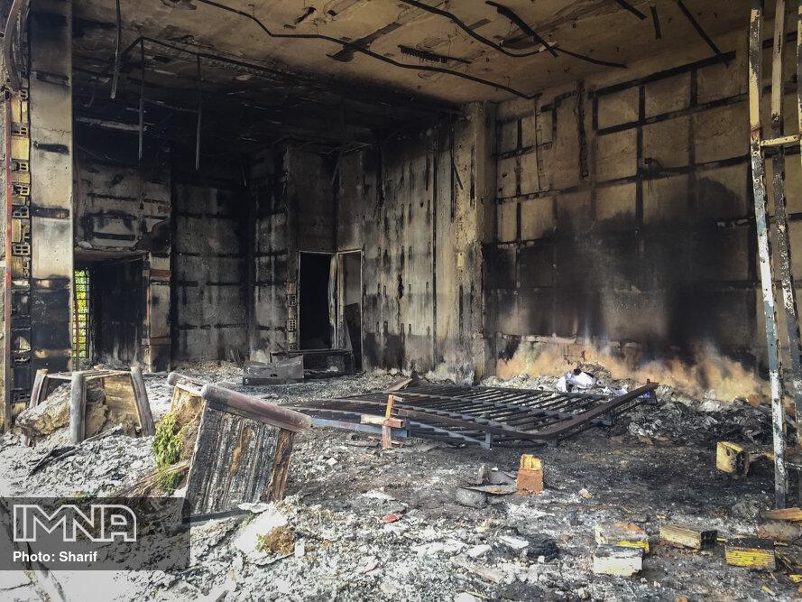 دستگیری ۴ تن از عاملان آتشسوزی بانک تجارت اصفهان