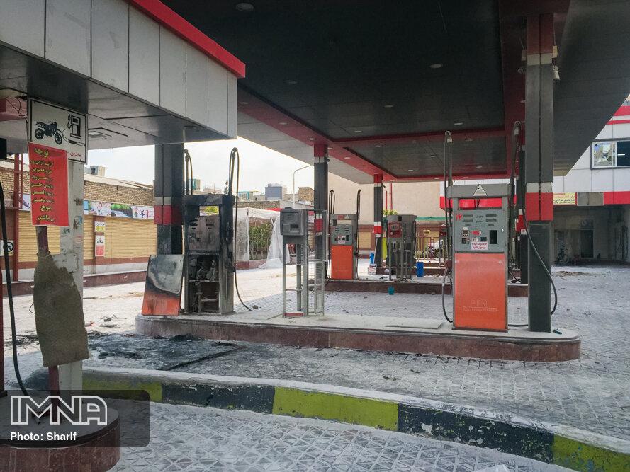 دولت خسارت اعتراضات آبان به جایگاههای سوخت را جبران نکرده است