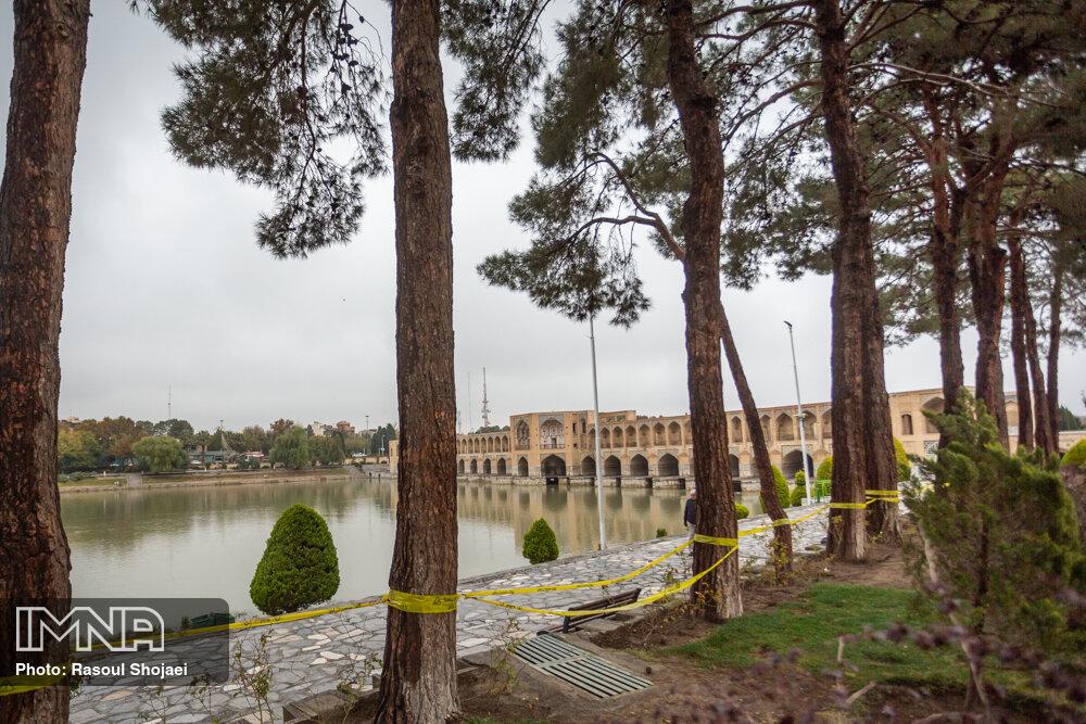 باران سایه آلودگی را از سر اصفهان کم کرد