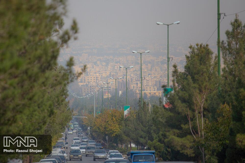 هوای اصفهان ناسالم شد