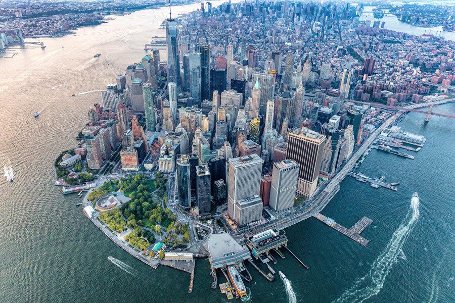 نیویورک برای مقابله با سیل احتمالی چه کرد؟