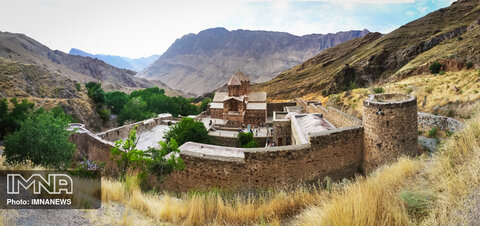 Saint Stepanos Monastery in Iran