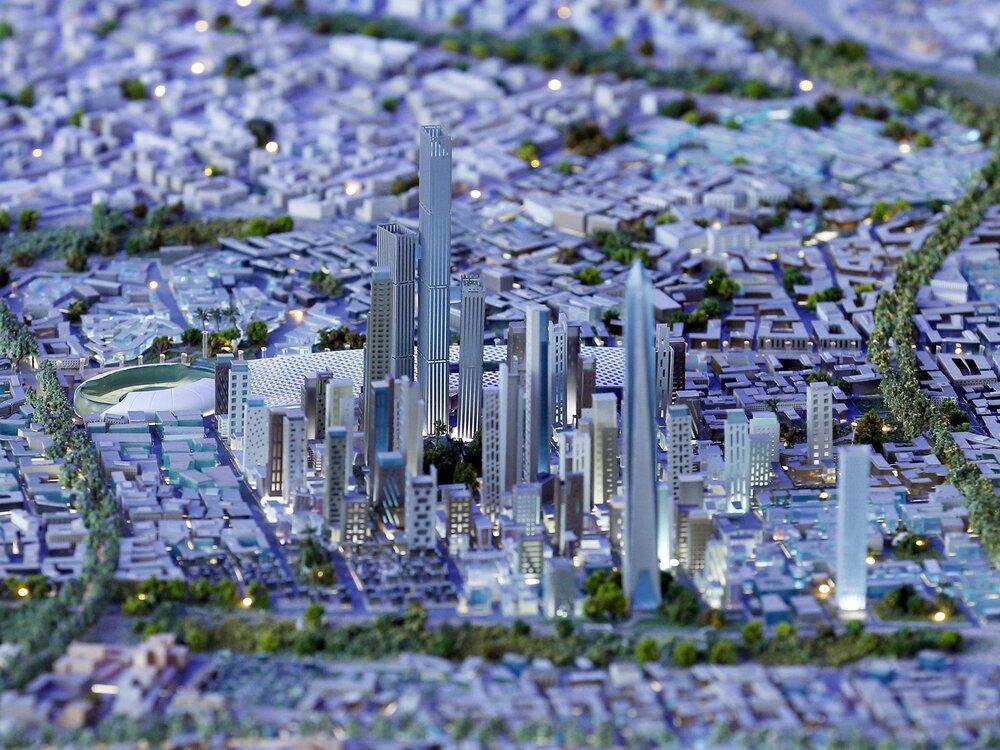 شهرهایی که از نو ساخته شد + عکس