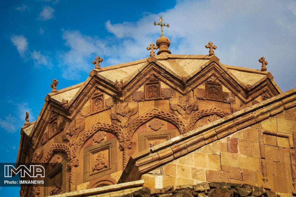Saint Stepanos Monastery in Iran