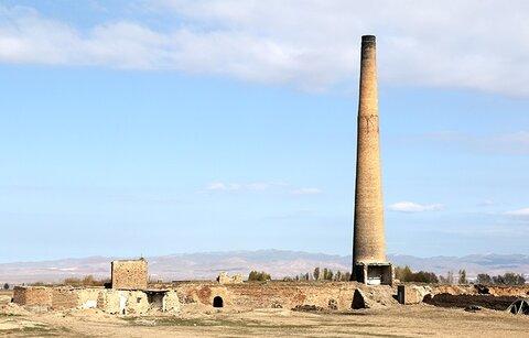کشف منطقه صنعتی باستانی در اردبیل