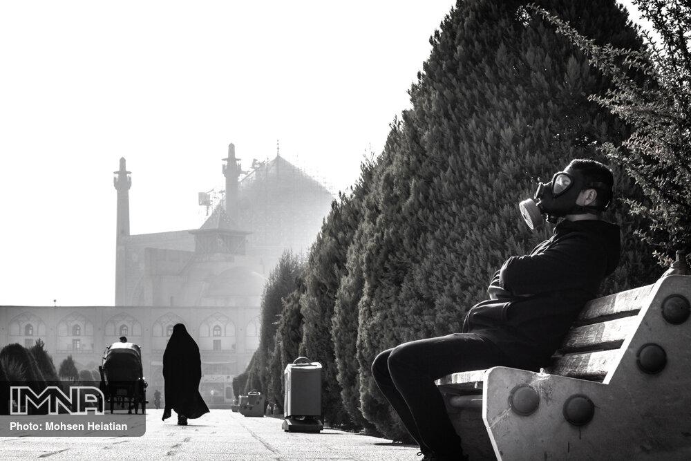 گوش شنوایی برای مشکل آلودگی هوای اصفهان نیست