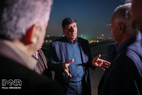 بازدید مدیر عامل شرکت توزیع برق شهرستان اصفهان