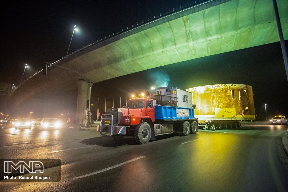 ورود TBM خط دو مترو به اصفهان