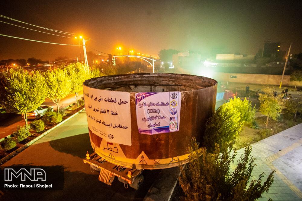 اجرای ۱۲ ایستگاه  خط دو مترو اصفهان