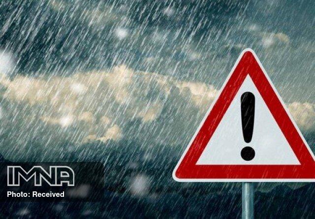 بارشهای رگباری در انتظار آسمان ایران