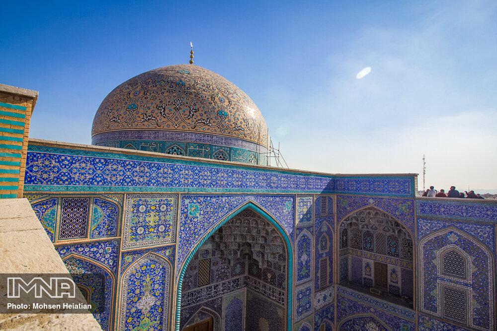 Sheykh Lotfollah Mosque after refurbishment
