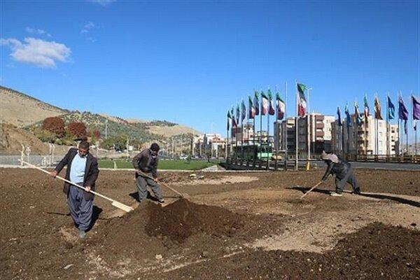 پروژه بلوار ۲۴ متری کمربندی آبیدر تکمیل شد