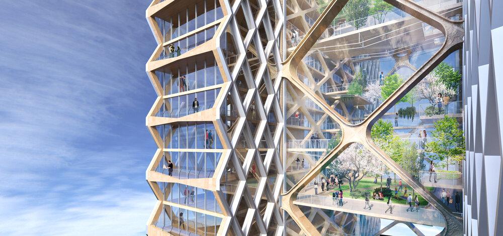 آینده چوبی شهرهای آمریکا
