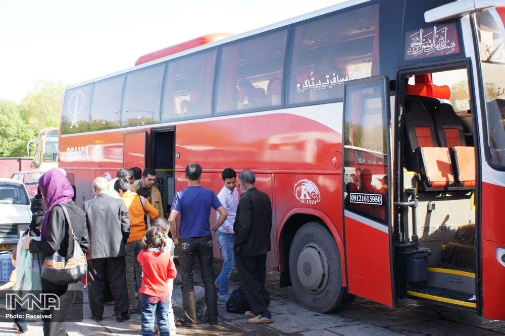 شرکتهای حمل ونقل جادهای موظف به ضدعفونی اتوبوسها شده اند