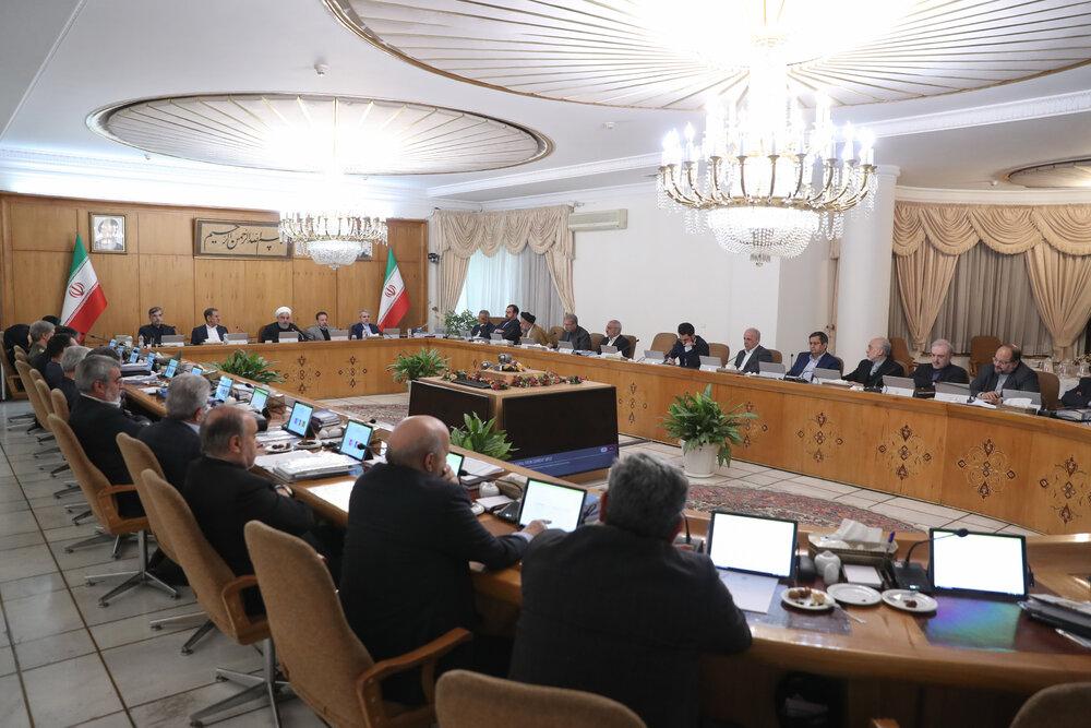 بحث و بررسی هیئت دولت درباره راهکارهای اجرای رهنمودهای مقام معظم رهبری