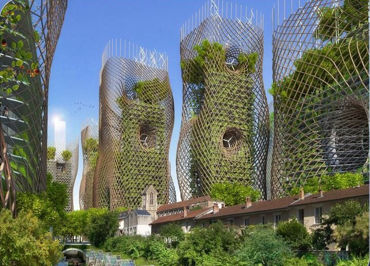 پاریس هوشمند و پایدار ۲۰۵۰ را اکنون ببینید + عکس