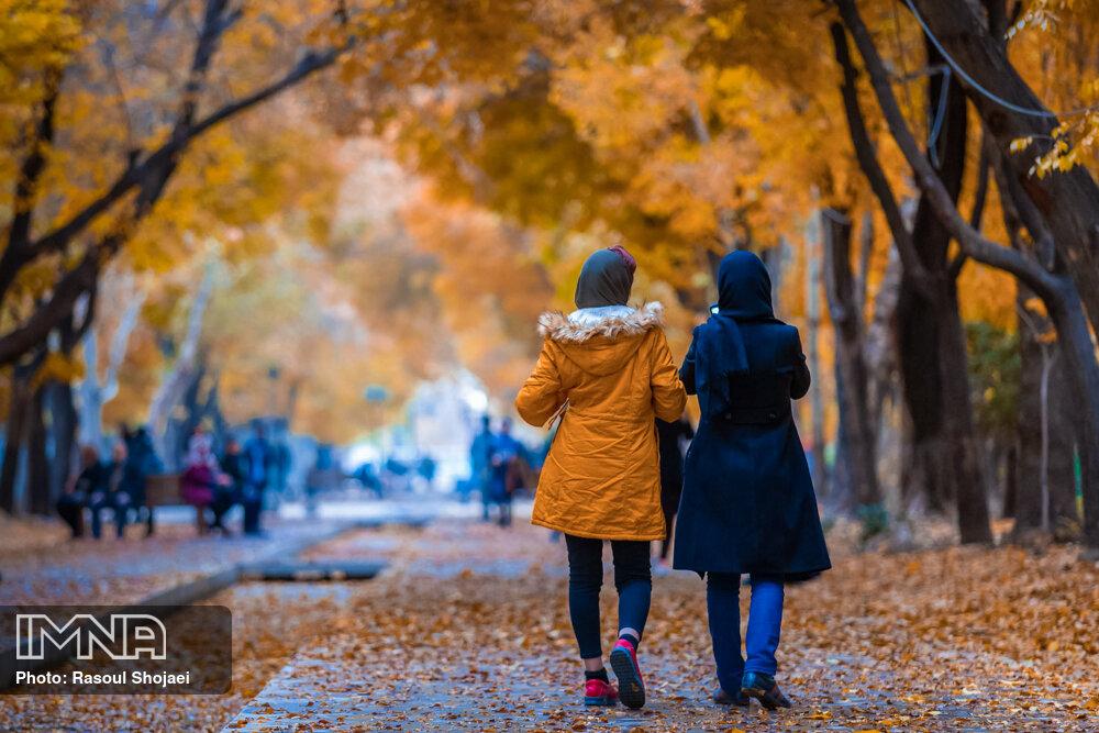 اصفهان تنها شهر کشور با ۲ محور پیاده عمود بر هم است