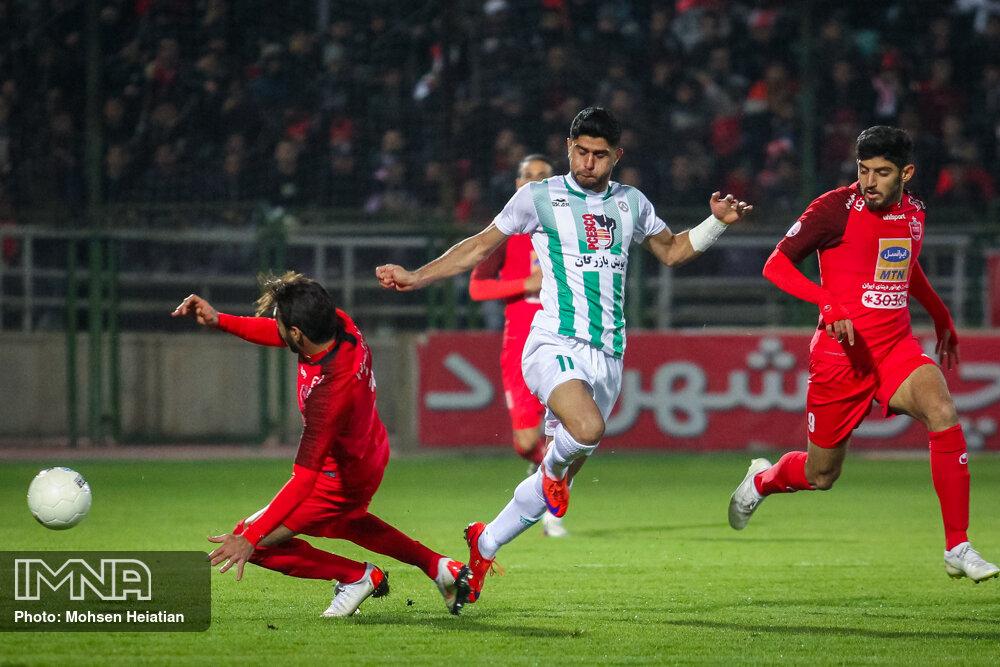 تساوی جذاب قرمز و سبزهای فوتبال ایران/پرسپولیس ۳-۳ ذوب آهن لیگ هفدهم + فیلم بازی