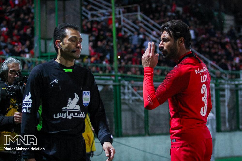 جایگاه پرسپولیس در جدول رده بندی لیگ برتر پس از برد برابر فولاد + جدول