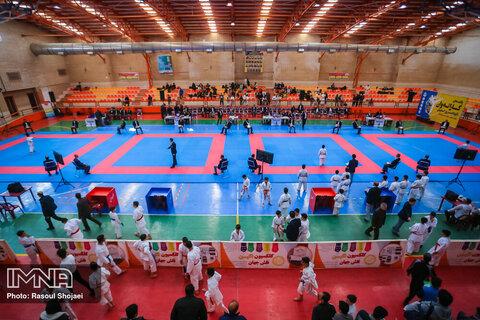 اعلام نفرات برتر رقابت های کاراته وان پسران