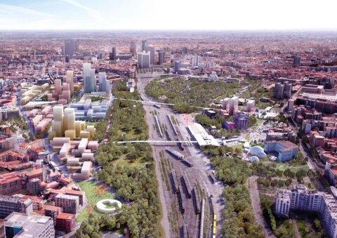 تبدیل راهآهن قدیمی میلان به پارکهای سرسبز