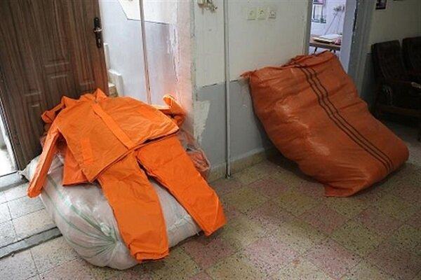 توزیع لباس گرم بین پاکبانهای سنندجی