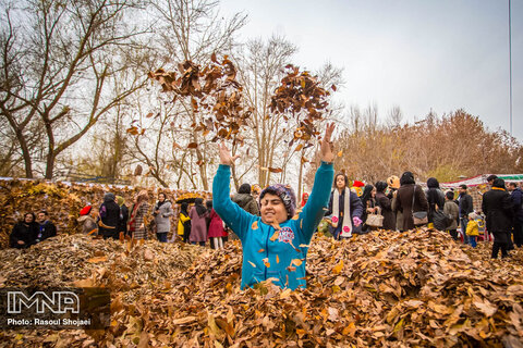 Fall adventures in Isfahan