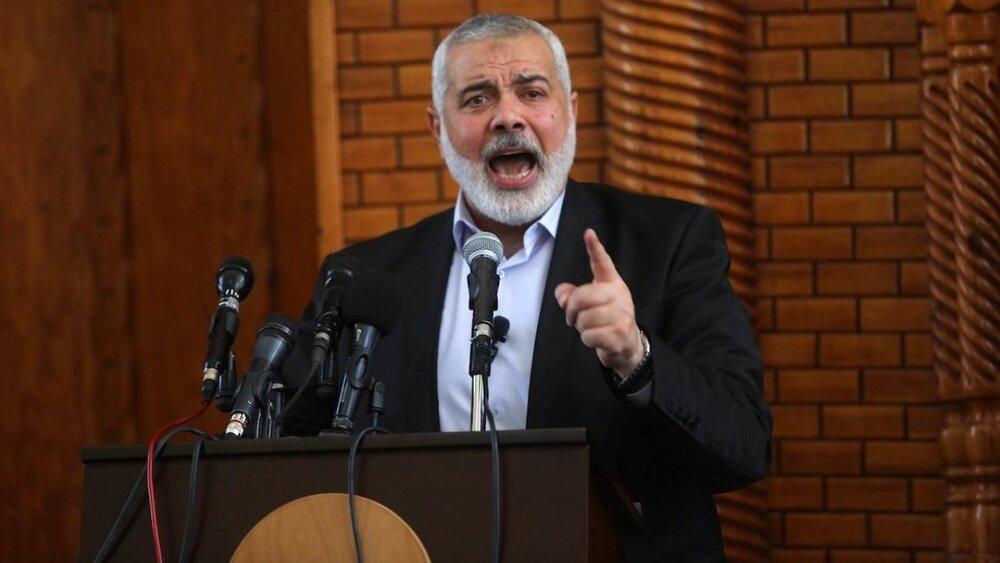 هنیه: هرگز اسرائیل را به رسمیت نخواهیم شناخت