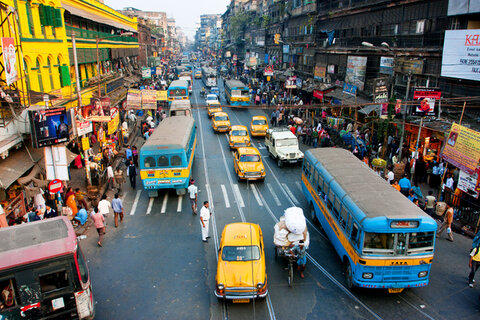 تلاش شهر های آسیایی برای کاهش آلودگی هوا
