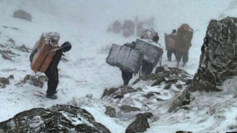 فوت یک کولبر بر اثر سرما در کردستان