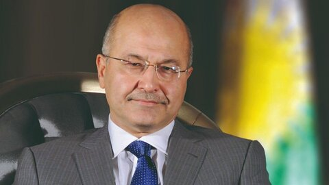 رئیس جمهور عراق، بایدن را شریکی مورد اعتماد خواند