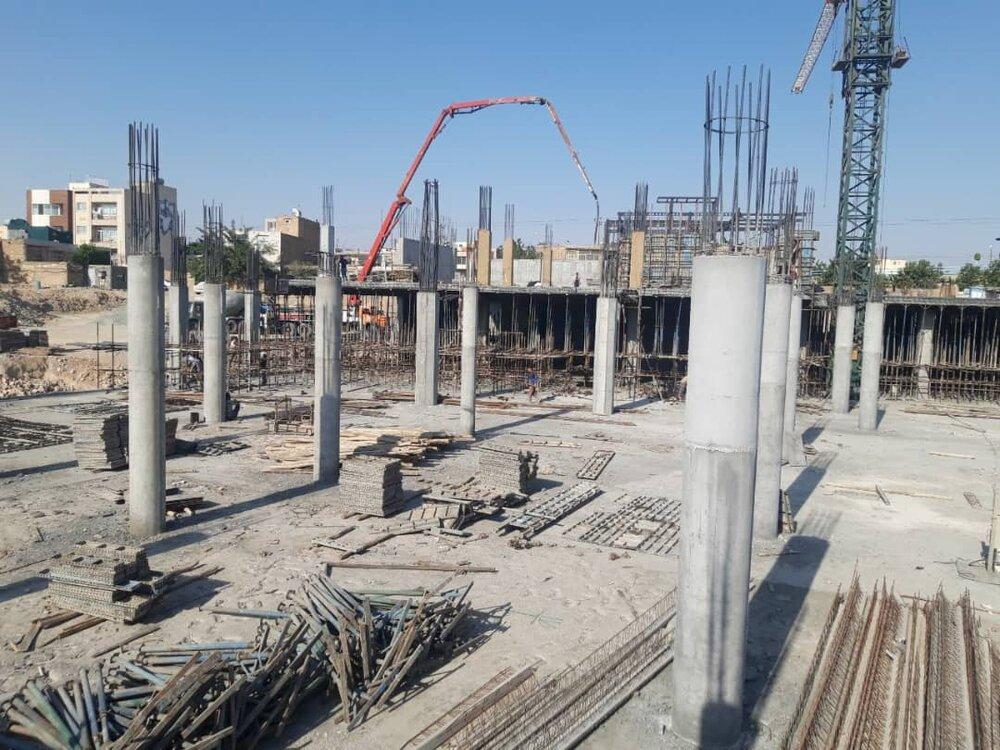 پیشرفت ۵۰ درصدی احداث ساختمان جدید تعاونی مصرف کارمندان شهرداری