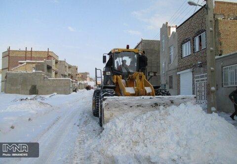 آمادهباش ستاد برفروبی شهرداری قزوین برای مقابله با برف و یخبندان