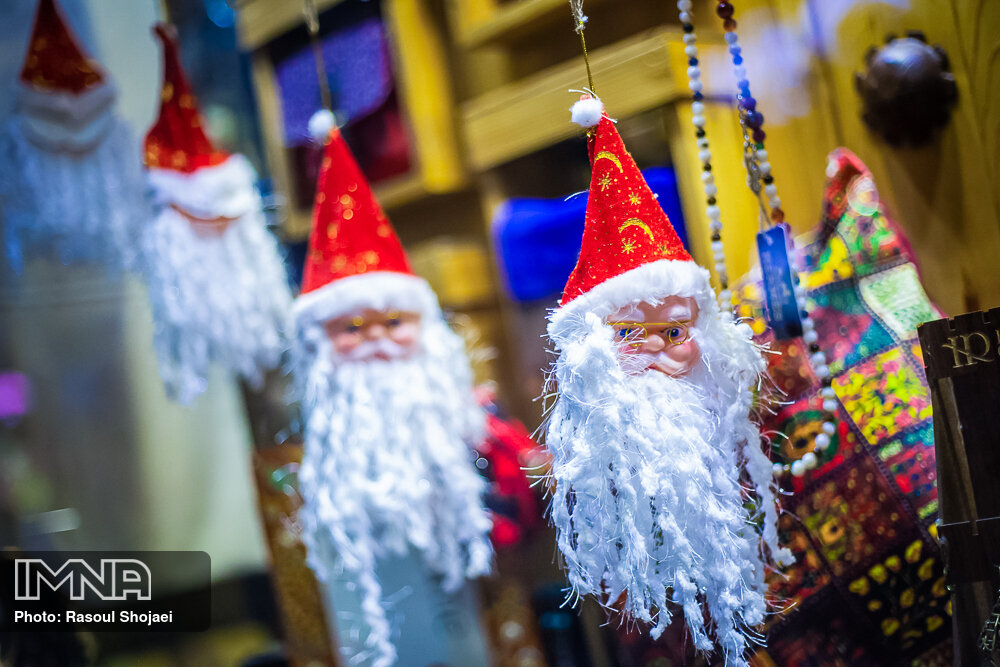 Isfahan's Christian neighborhoods welcome New Year