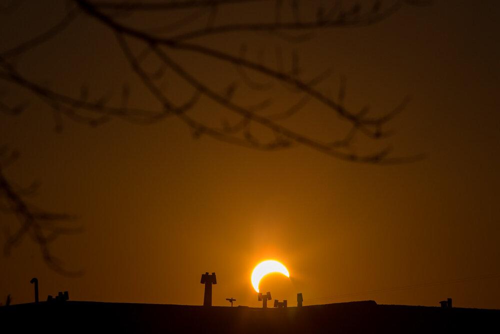 خورشید گرفتگی امروز ۳۶ امین خورشیدگرفتگی ساروس ۱۳۷