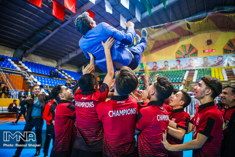فینال مسابقات فوتسال امید های کشور