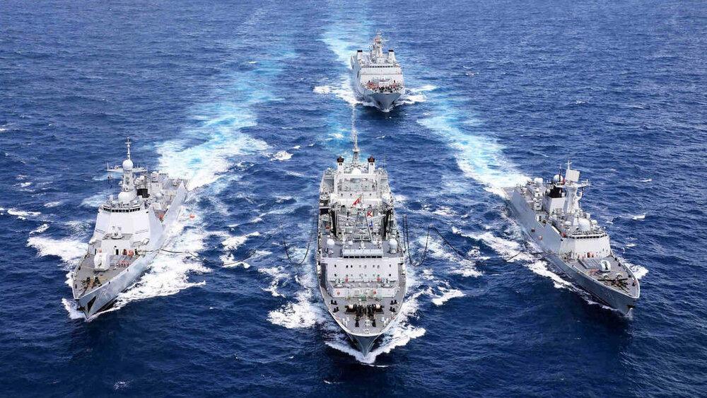 واکنش آمریکا به رزمایش سهجانبه ایران، روسیه و چین