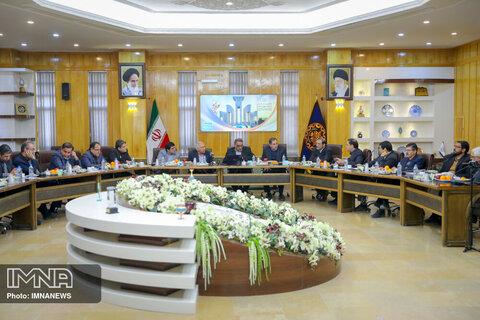 دیدار شهردار اصفهان با هیئت امنا دانشگاه صنعتی اصفهان