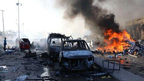 حمله تروریستی به یک اتوبوس در سوریه