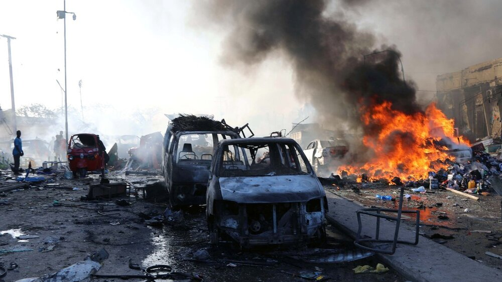 وقوع انفجار در مرکز بغداد ۳۲ کشته و زخمی بر جای گذاشت