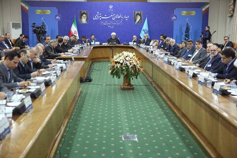 روحانی: ما در شرایط صلح وعده هایمان را دادیم اما وارد جنگ شدیم
