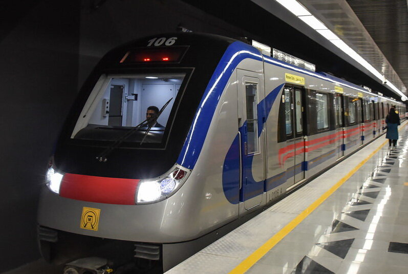 Isfahan's metro system welcomes 10 new wagons