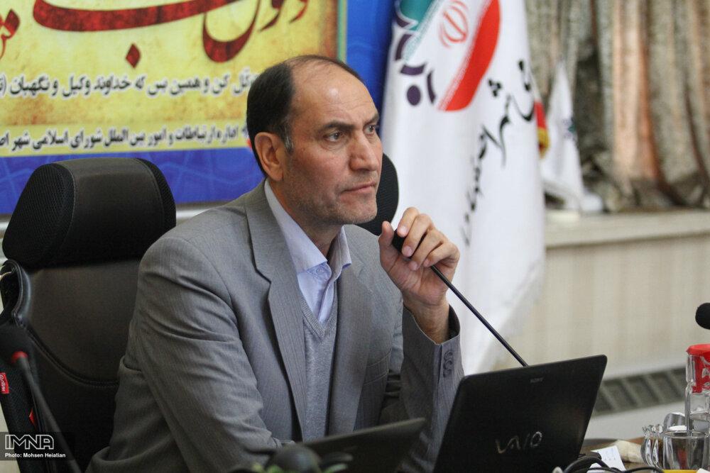 تبریک رئیس شورای شهر اصفهان به شهروندان سنپترزبورگ