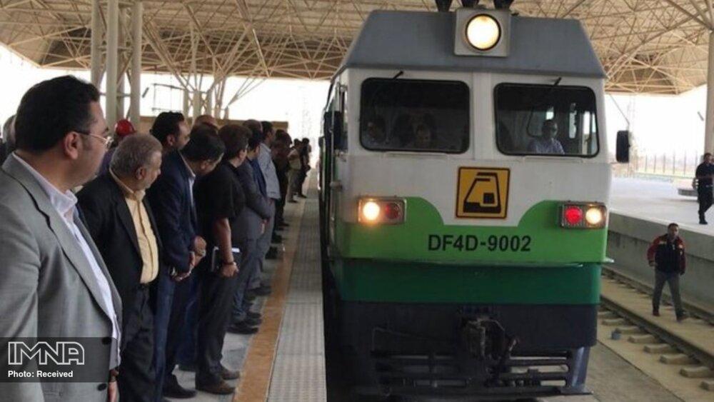 افتتاح قطار برقی کرج_هشتگرد