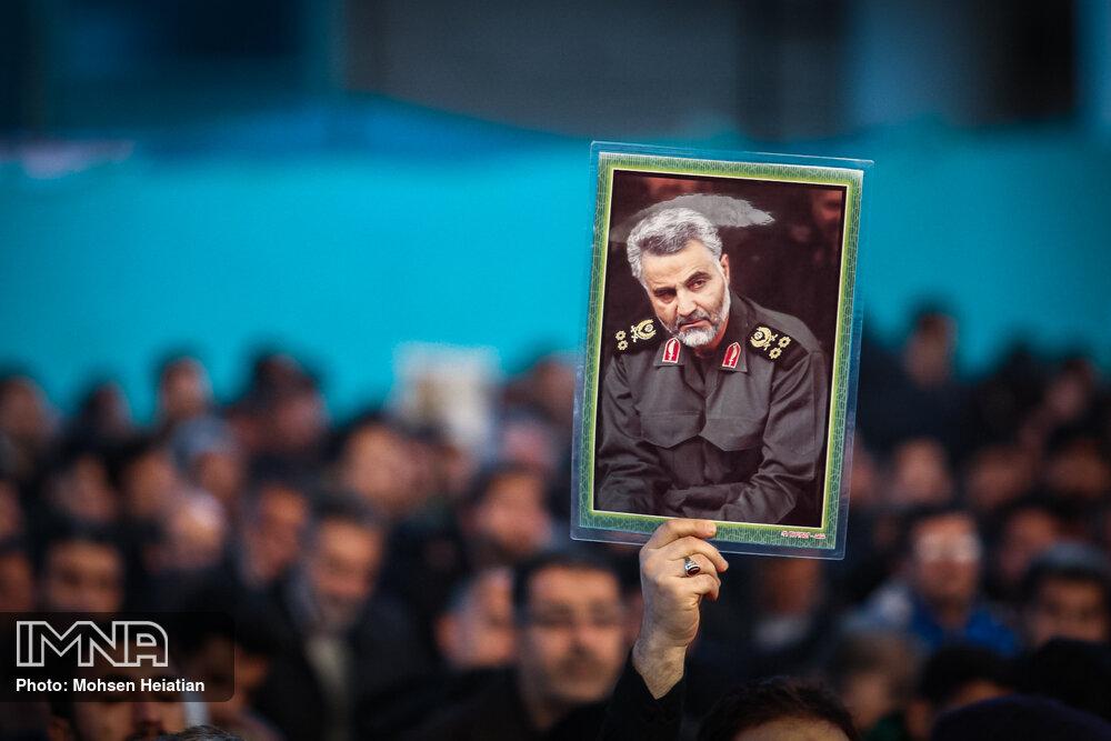 برگزاری محفل قرآنی به یاد سردار سلیمانی در اصفهان
