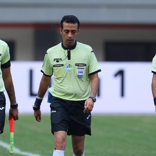 قضاوت یک ایرانی در مرحله پلی آف لیگ قهرمانان آسیا