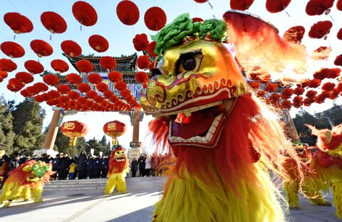 Chinese new year to be celebrated in Isfahan