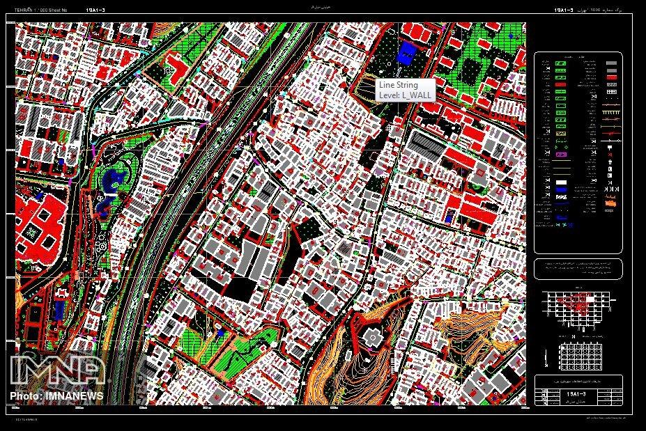 """تهیه نقشه """"رقومی"""" شهر ملایر"""