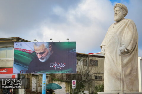 مراسمات عزاداری شهادت سردار دلها در گیلان